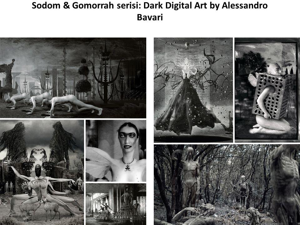Sodom & Gomorrah serisi: Dark Digital Art by Alessandro Bavari