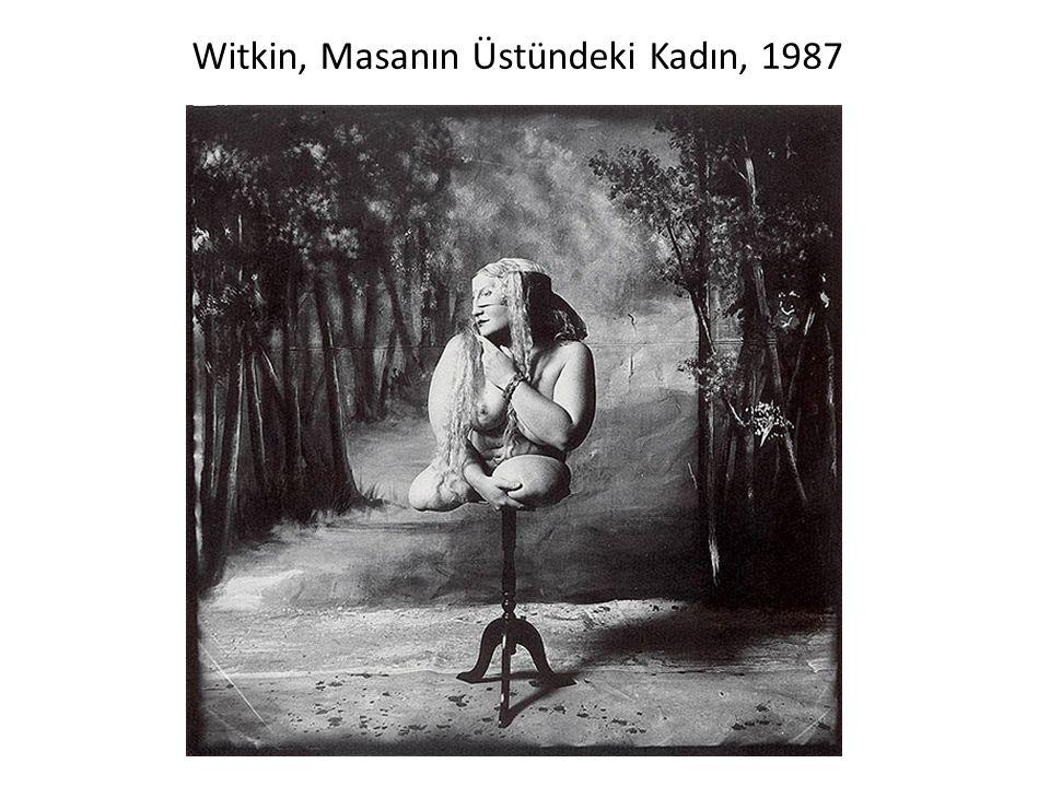 Witkin, Masanın Üstündeki Kadın, 1987