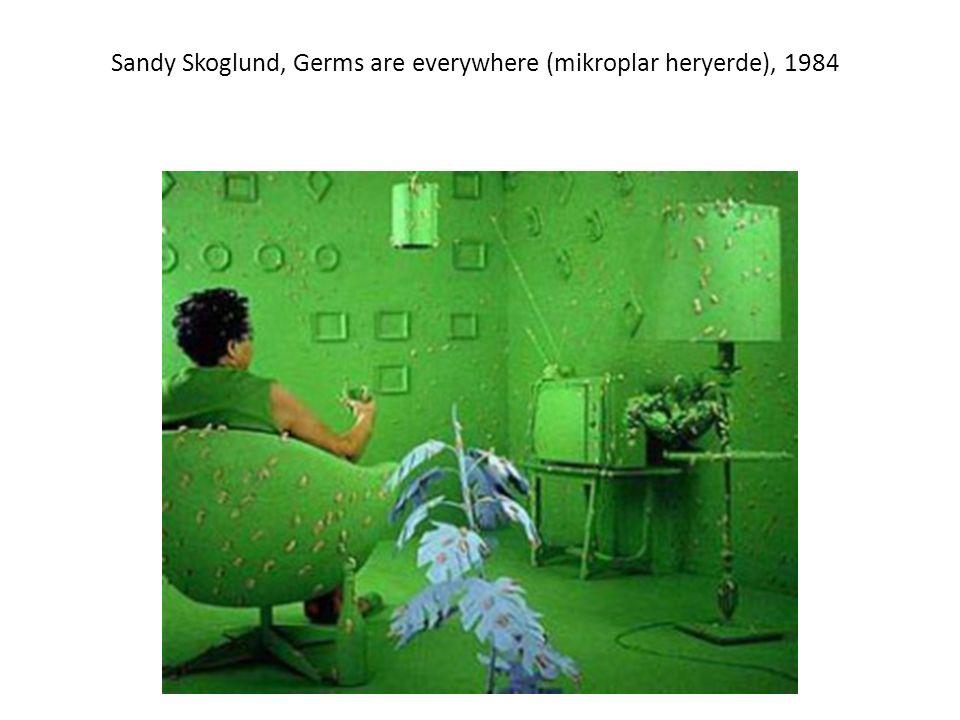 Sandy Skoglund, Germs are everywhere (mikroplar heryerde), 1984