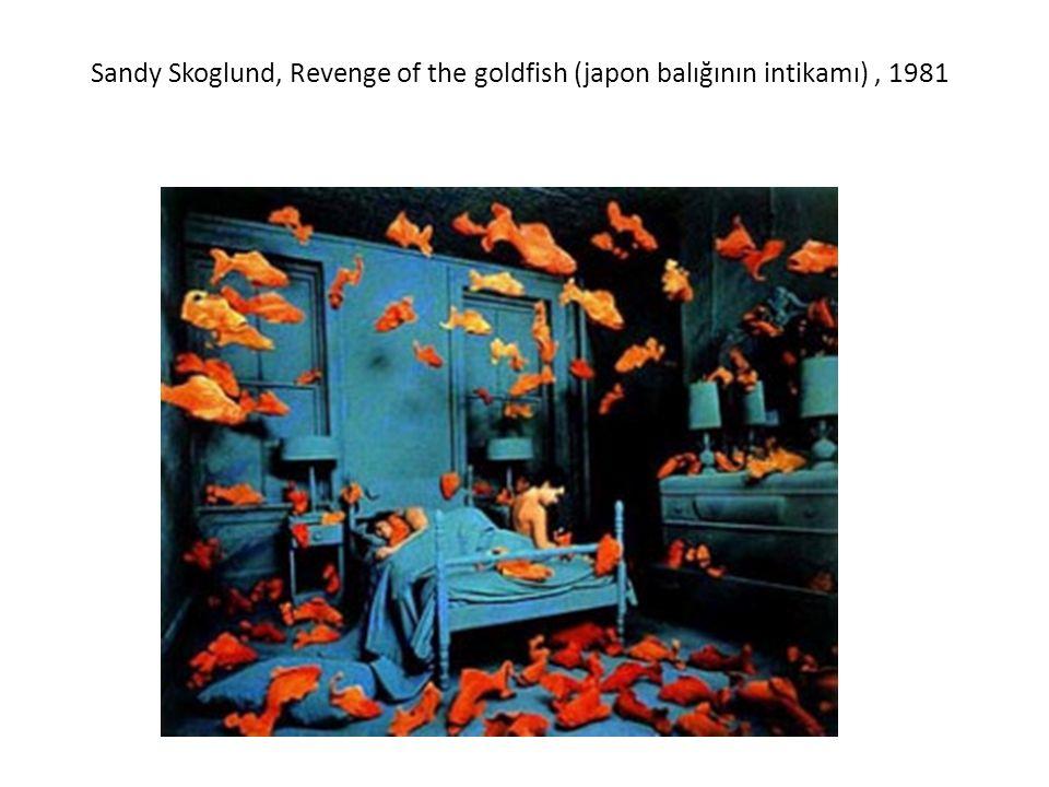 Sandy Skoglund, Revenge of the goldfish (japon balığının intikamı), 1981