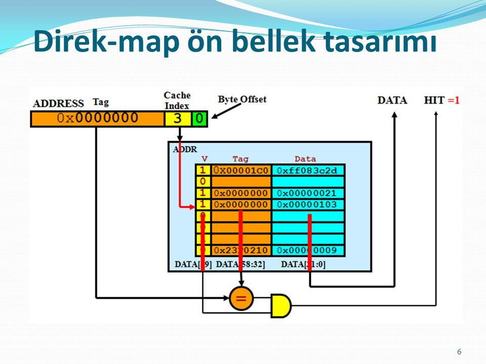 Direk-map ön bellek tasarımı 6