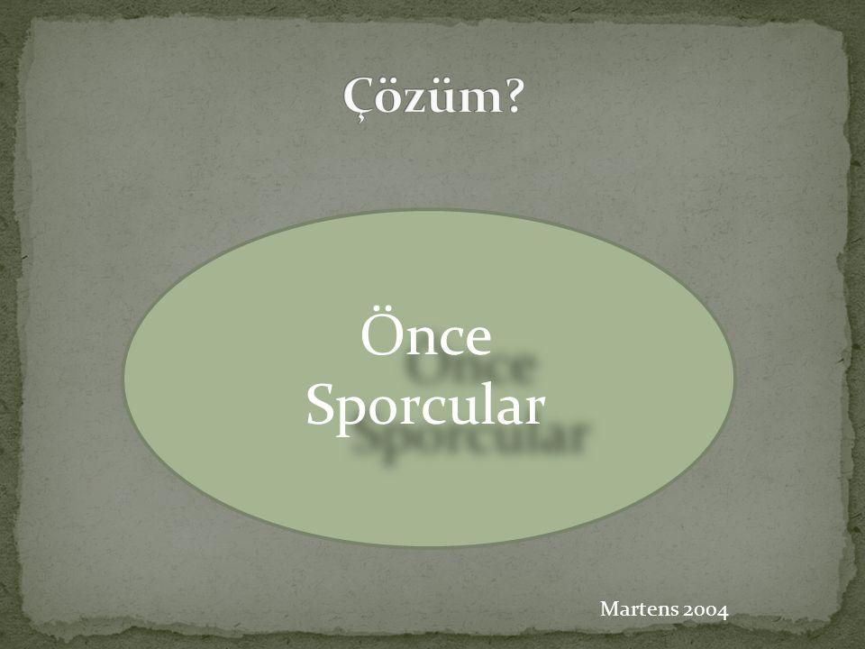 Önce Sporcular Martens 2004