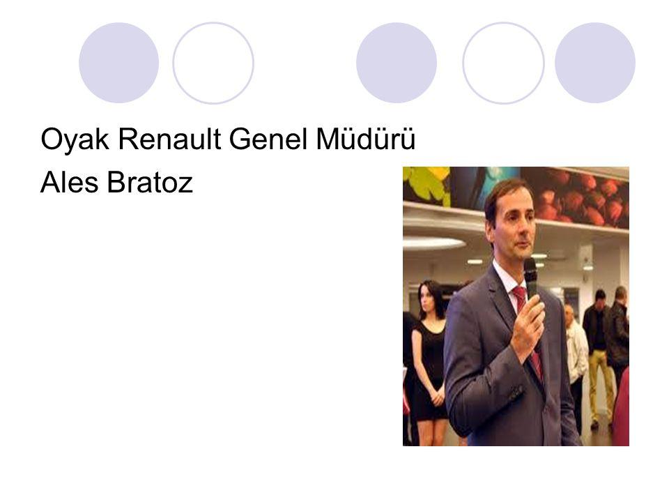 Oyak Renault Genel Müdürü Ales Bratoz