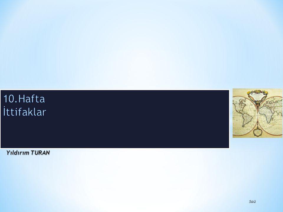 İttifakların Kökeni Klasik güç dengesi teorisyenlerinin çalışmaları ittifaklar üzerine gelişen literatürün kökenini oluşturur.