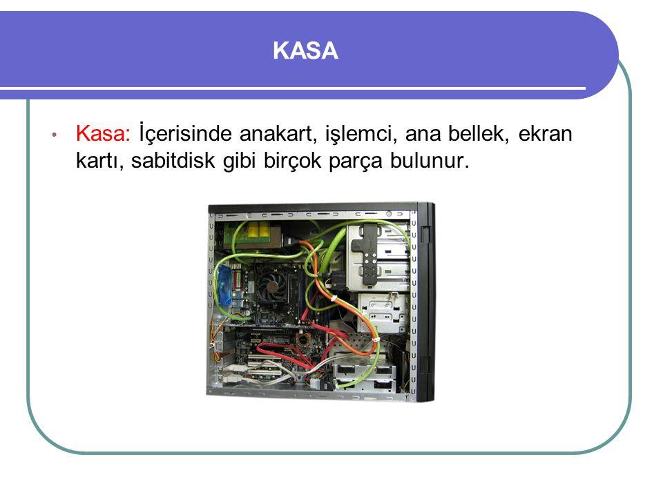 ANAKART Anakart: Üzerinde elektronik devrelerin bulunduğu karttır.