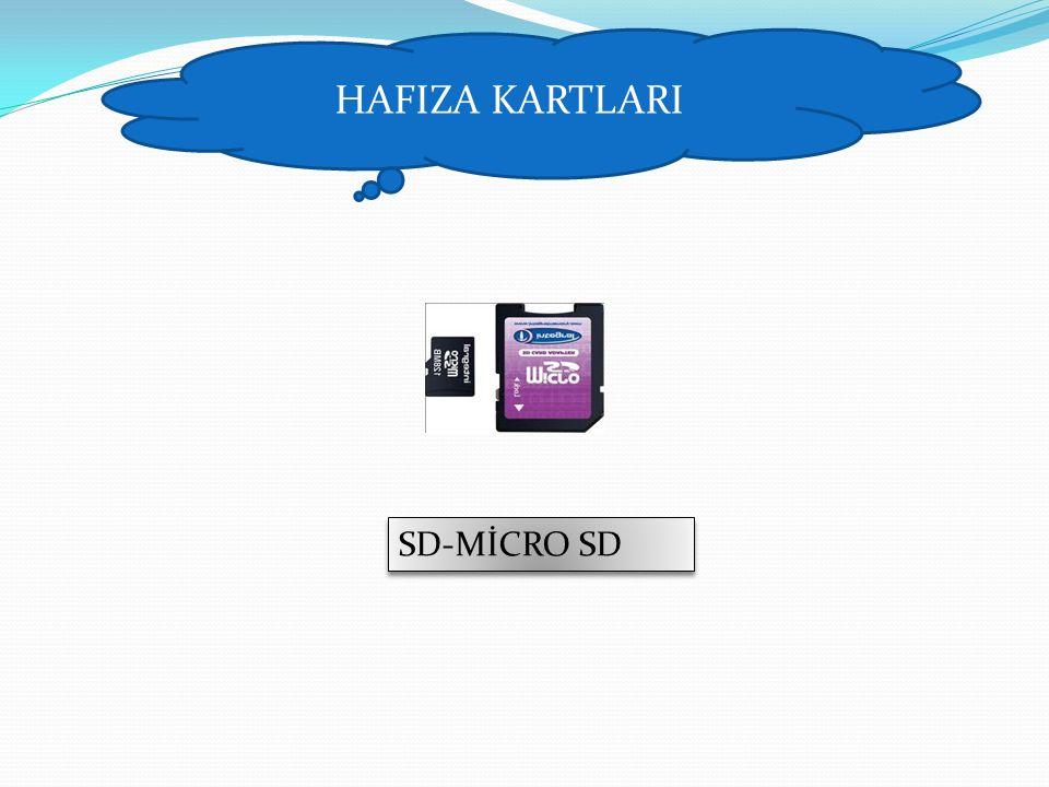 HAFIZA KARTLARI SD-MİCRO SD