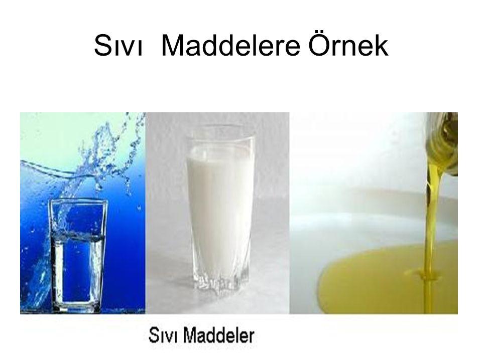 Gaz Maddeler Gaz maddelerin belirli bir hacimleri ve şekilleri yoktur.