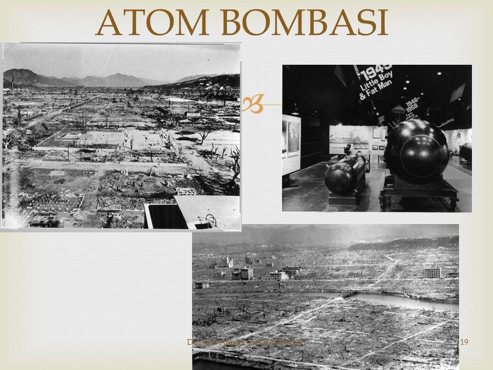  ATOM BOMBASI Doç. Dr. Ahmet Can BAKKALCI19