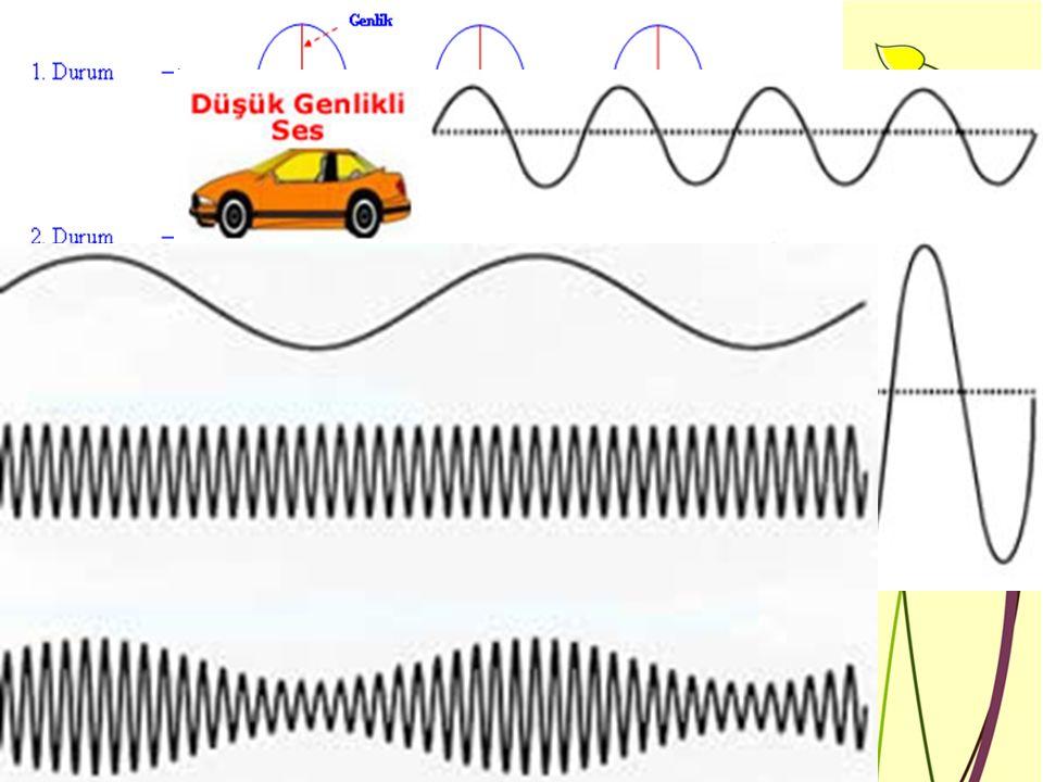 Titreşen bir nesnenin başlattığı titreşimler dizisine ses denir.