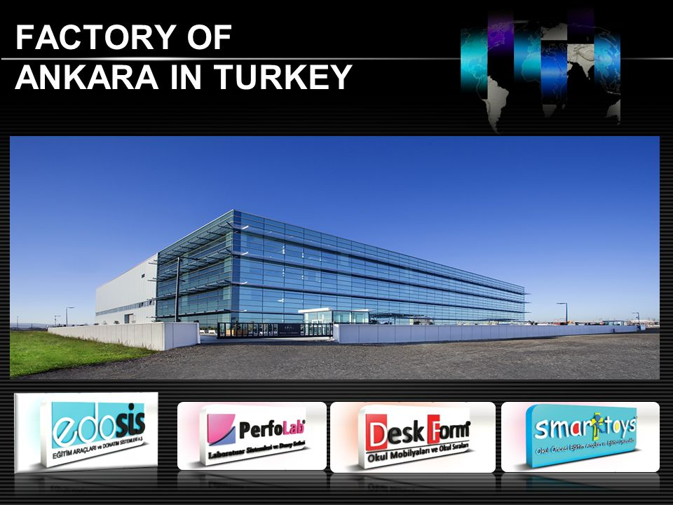 FACTORY OF ANKARA IN TURKEY