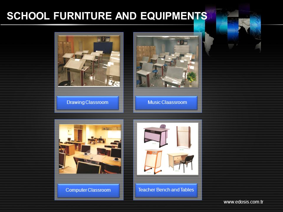 www.edosis.com.tr SCHOOL FURNITURE AND EQUIPMENTS