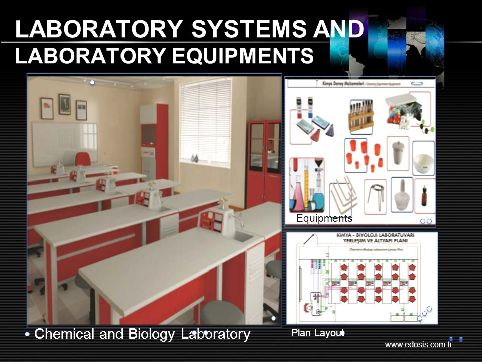www.edosis.com.tr LABORATORY SYSTEMS AND LABORATORY EQUIPMENTS