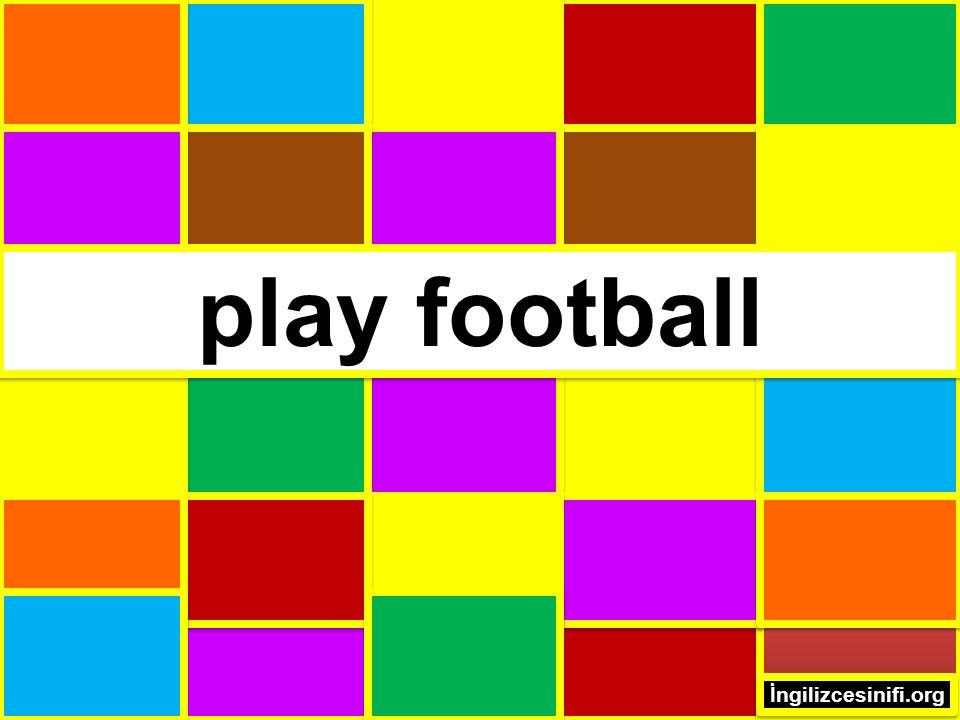 play football İngilizcesinifi.org