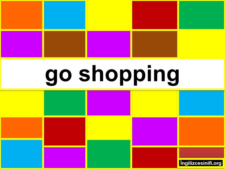 go shopping İngilizcesinifi.org