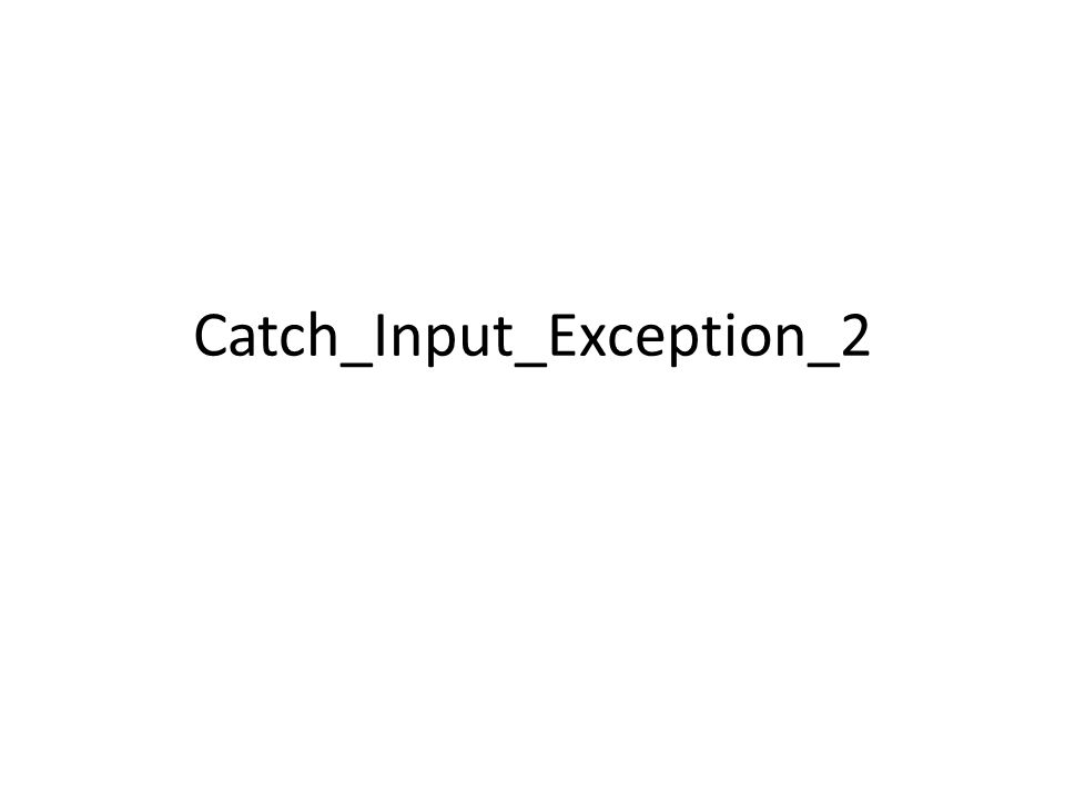 Catch_Input_Exception_2