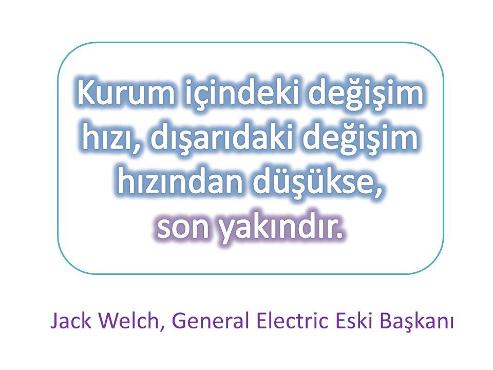Jack Welch, General Electric Eski Başkanı