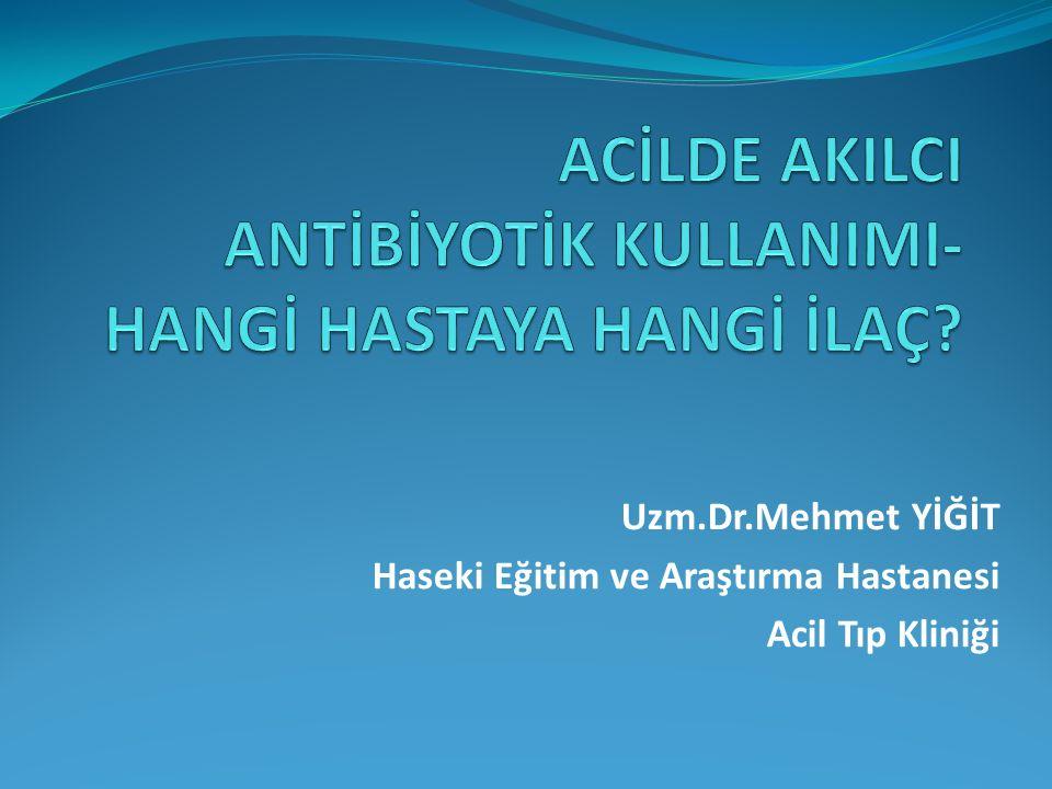 Nonspesifik ishal/Sekretuvar Kramp gidericiler (Hiyosin-n-butilbromür+ Parasetamol) Bulantı kesiciler (Metokloropramid HCL) Antidiyareik (Saccharomyses boulardii) İshal diyeti