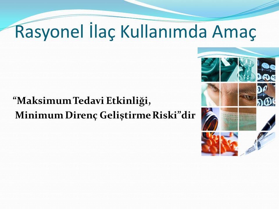 DünyaTürkiye ∗ 1.Kalp-damar % 19,3 1. Antibiyotik % 19,0 ∗ 2.