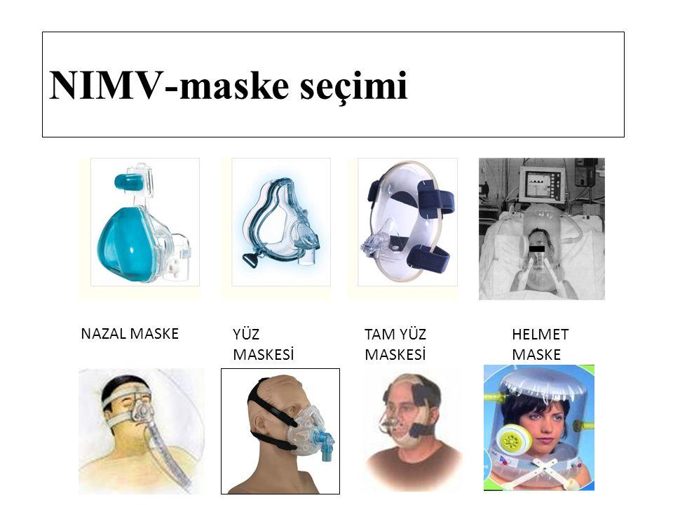 NIMV-maske seçimi NAZAL MASKE YÜZ MASKESİ TAM YÜZ MASKESİ HELMET MASKE