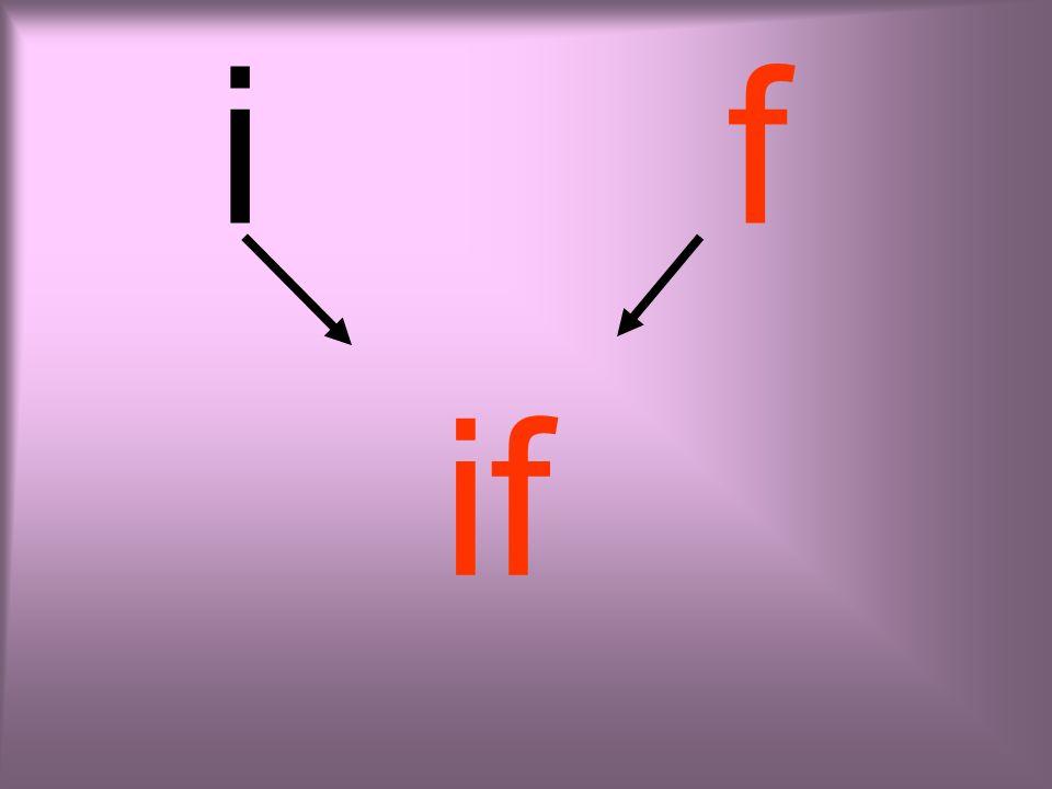 ı f ıf