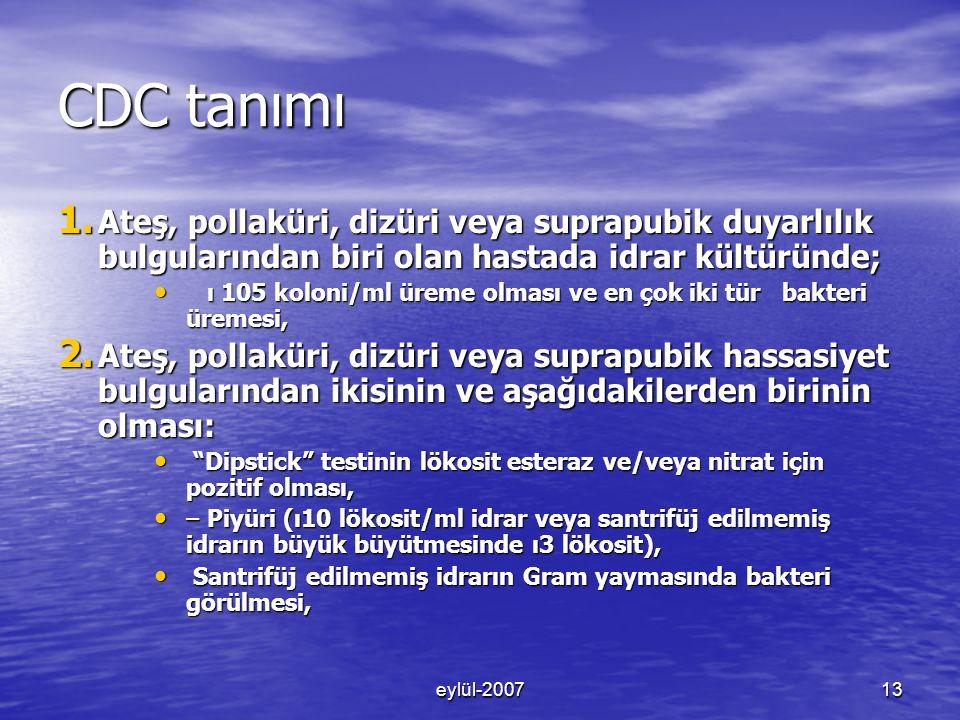 eylül-200713 CDC tanımı 1.