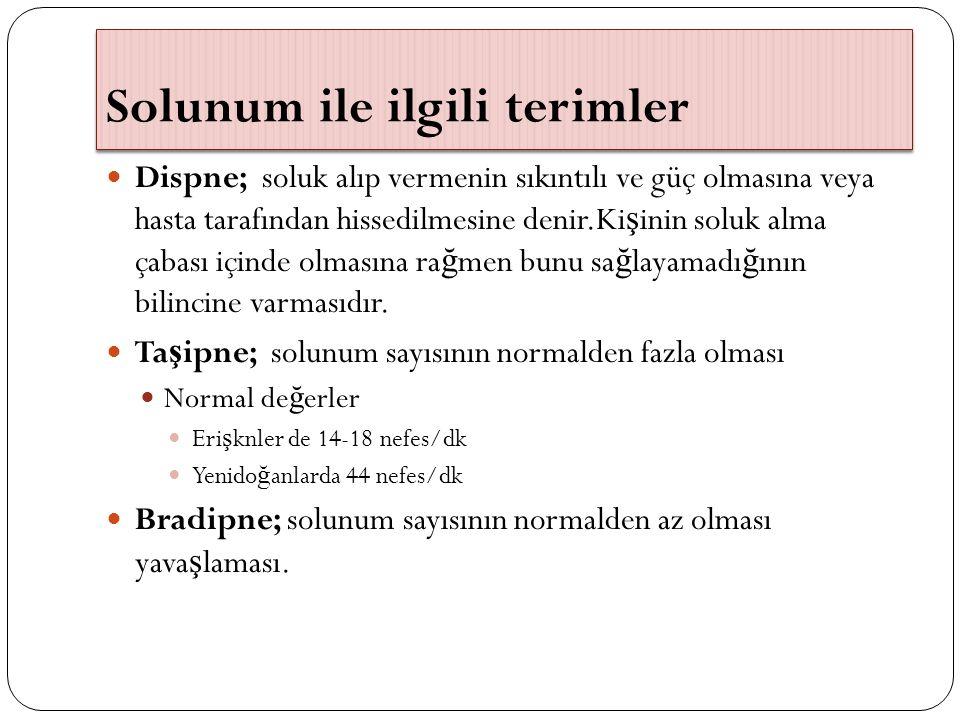 Ş oka Ba ğ lı Solunum Yetmezli ğ i (T İ P 4) Daha önce akci ğ er problemi olmayan hastada hipoperfüzyona ba ğ lı solunum yetmezli ğ i geli ş mesidir.