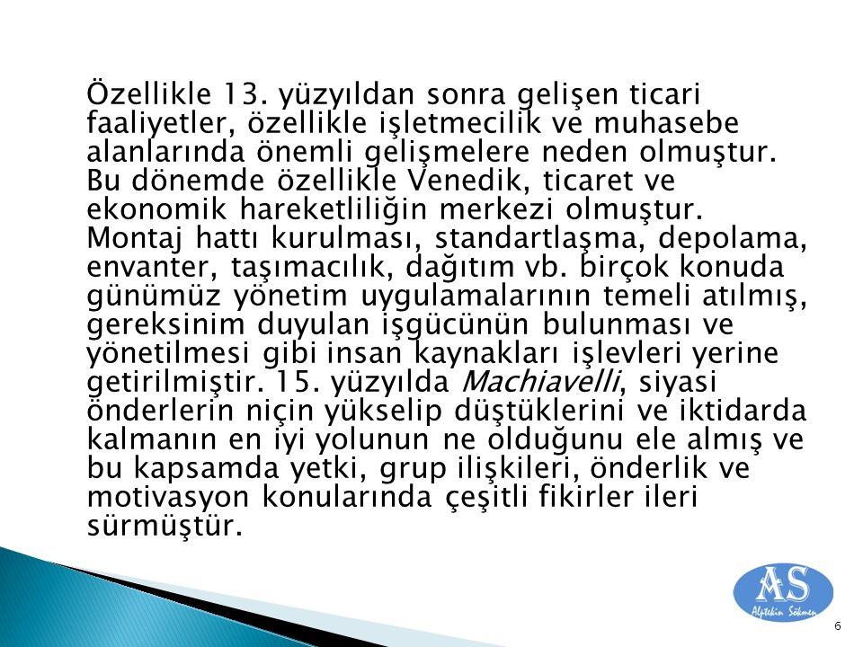 Osmanlı İmparatorluğunda Yeniçeri örgütlenmesi de, 15 ve 16.