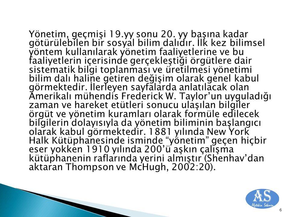  Dessler'ın (2004) S.Ghoshal ve C.