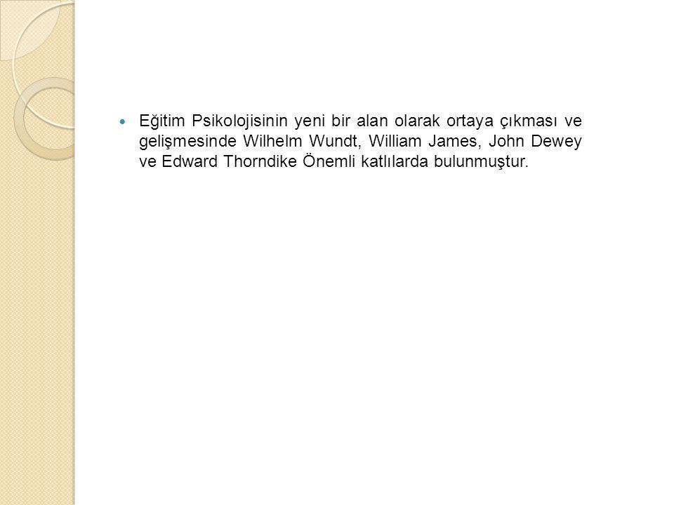 Ba ğ lantı Kuramı Thorndike, öğrenmeyi bir problem çözme olarak görmüş ve problemle karşılaşıldığında yapılan deneme- yanılma davranışlarıyla çözüm üretildiğini savunmuştur.