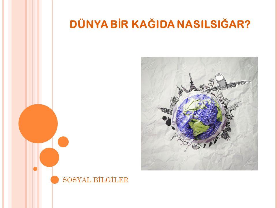SORULARI ÇÖZELİM 1.Soru: Yeryüzünün tamamının ya da belirli bir parçasının belirli bir ölçeğe bağlı kalınarak küçültülerek kağıda çizilmiş şekline ne ad verilir?