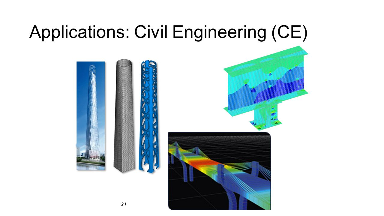 31 Applications: Civil Engineering (CE)