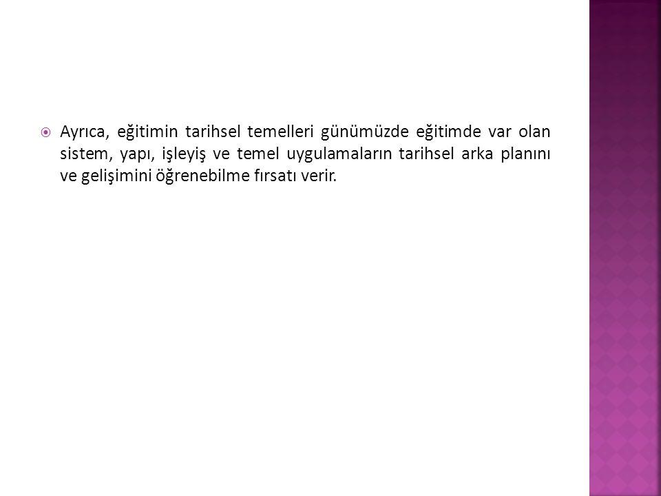  Tanzimat, Osmanlı devleti için, her şeyden önce, düşünce alanında büyük bir yenilik getirmekteydi.