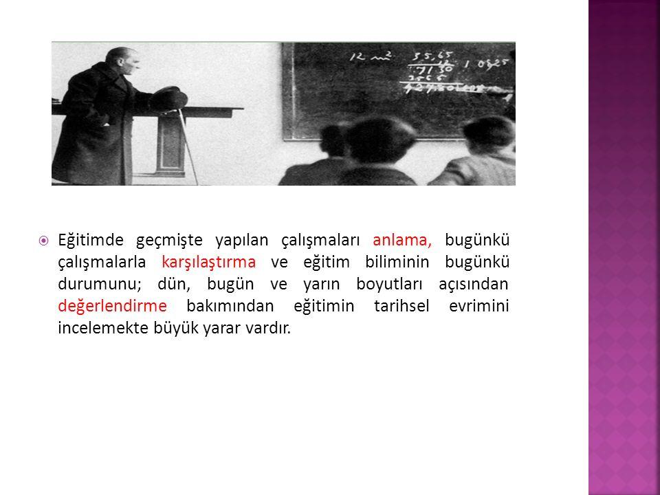  Eğitimin temel özelliği, söyleve (hitabeye) önem verilmesidir.