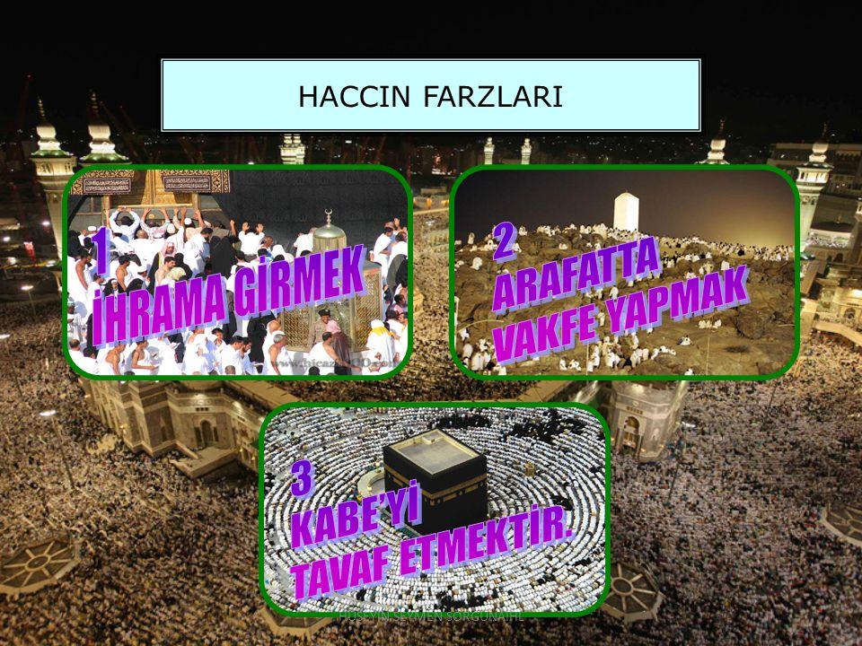 HACCIN FARZLARI HÜSEYİN SEYMEN SORGUNAİHL