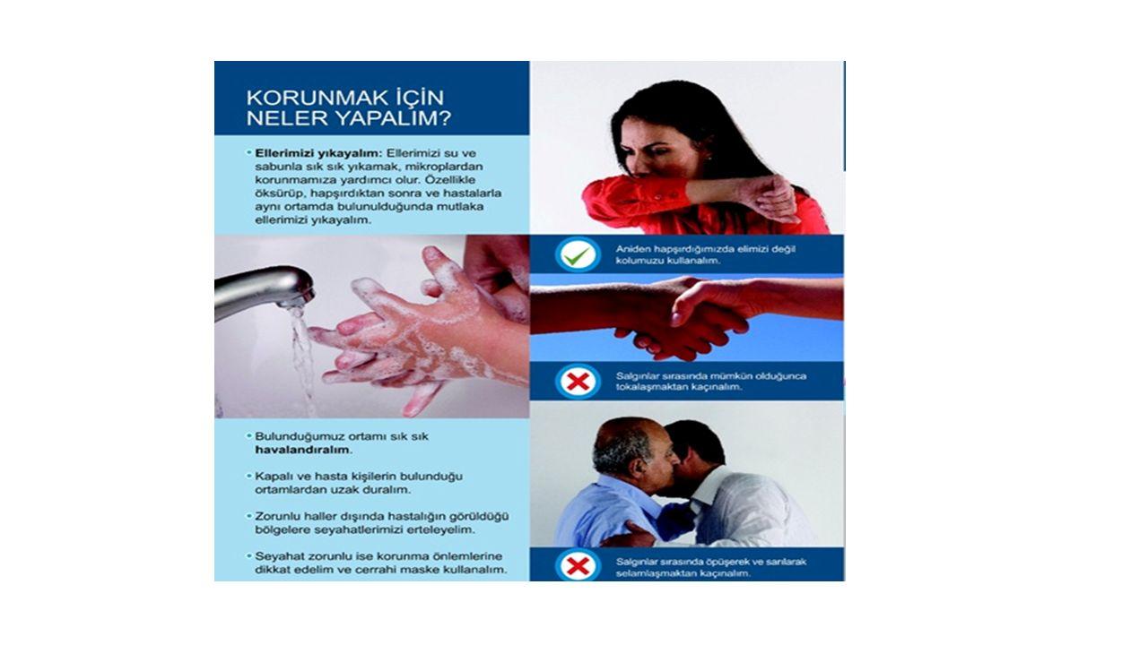 Soğuk Algınlığı (Rinit)- Klinik Özellikler İnkubasyon süresi: 24-72 saat, 3-7 gün içinde iyileşme görülür.