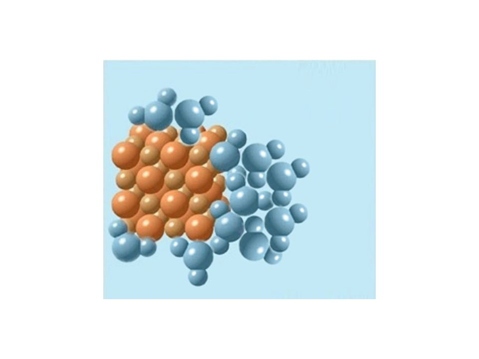 As water molecules accumulate... Kum tanesi Su molekulu Base image modified by jfh (08/25/01) from: CTE0510.bmp © 1998 Tasa Graphic Arts.