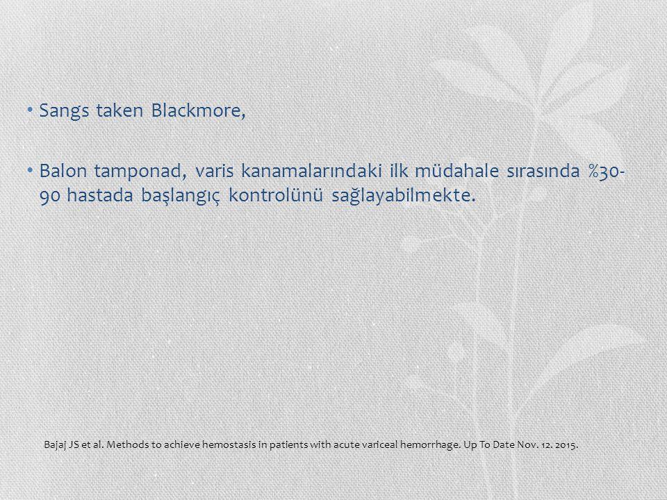 Glasgow – Blatchford Puan Sistolik KB, mmHg 100-1091 90-992 <903 BUN, mmol/L 6.5-7.92 8.0-9.93 10.0-24.94 ≥ 25.06 Hgb (Erkek), g/dL 12.0-12.91 10.0-11.93 <10.06 Hgb (Kadın), g/dL 10.0-11.91 <10.06 Diğer risk faktörleri Nabız ≥ 1001 Melena1 Senkop2 Karaciğer Hastalığı2 Kalp Yetmezliği2 Hospitalize edilmemiş, ayaktan hasta grubunda kullanılır.