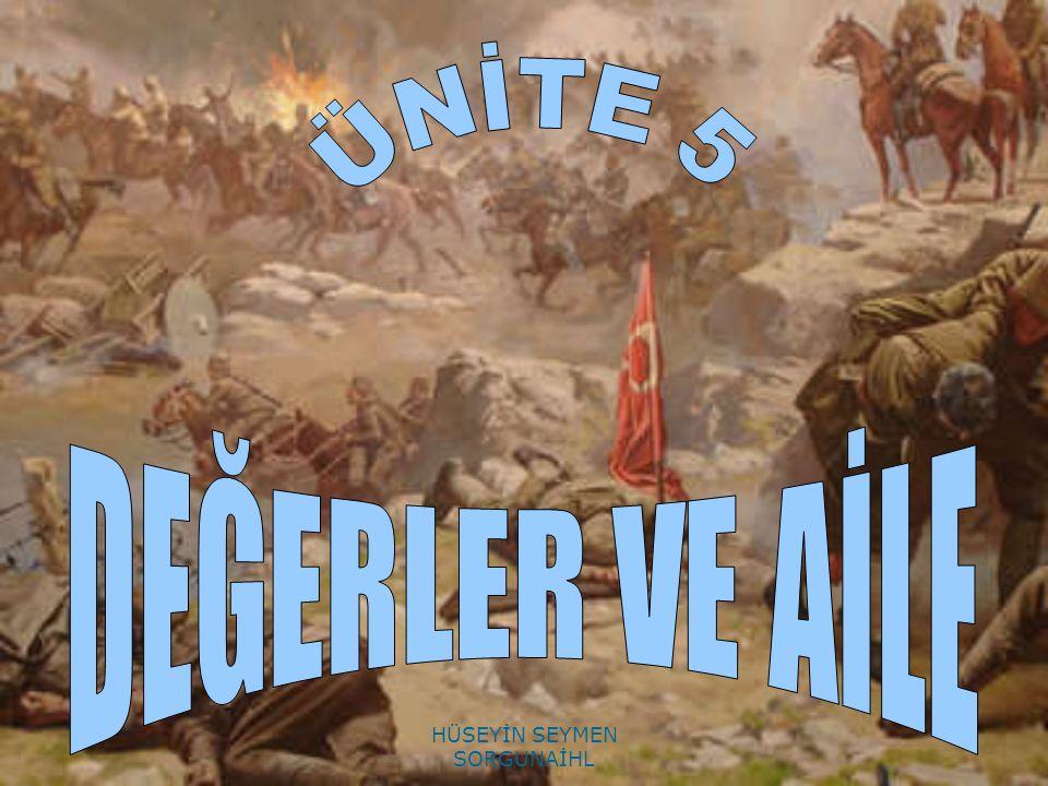 ATATÜRK DİYOR Kİ; Biz Türkler, tarih boyunca hürriyet ve bağımsızlığa sembol olmuş bir milletiz. HÜSEYİN SEYMEN SORGUNAİHL