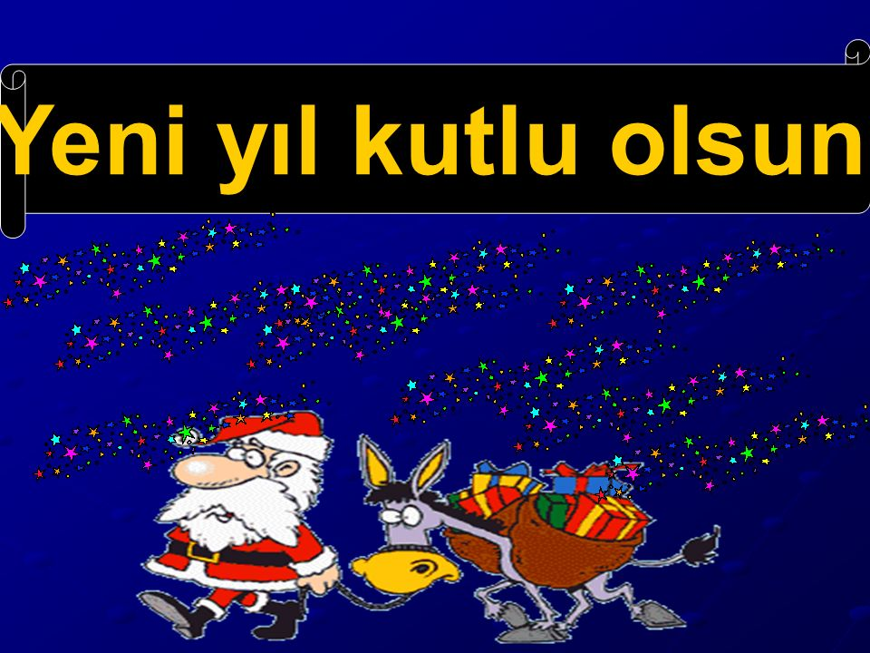 kutlu olsun yeni yıl