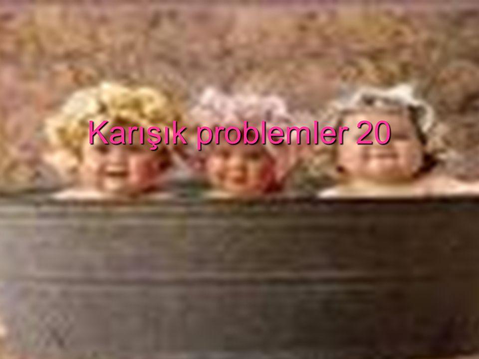 Karışık problemler 20