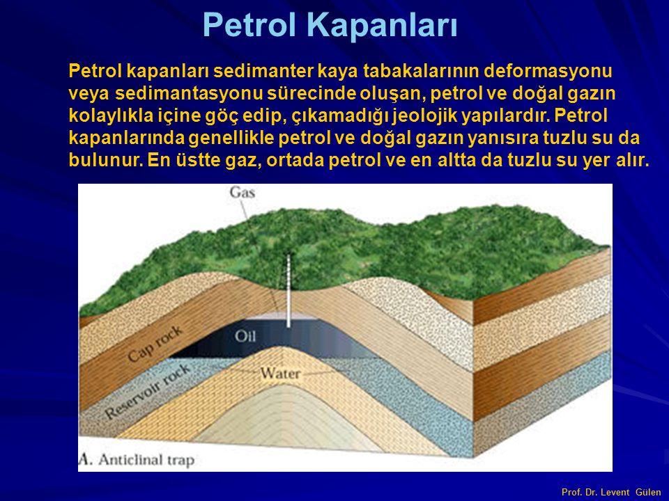 Tuz Domu Petrol Kapanları