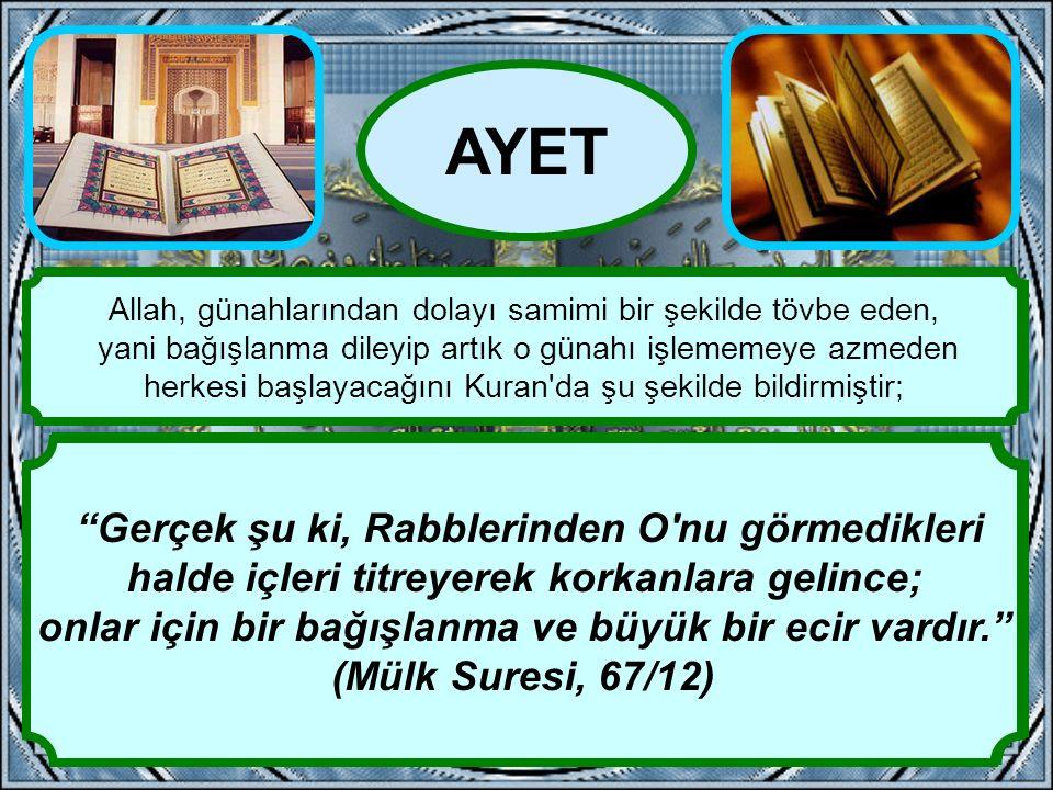 """""""Ancak kim işlediği zulümden sonra tövbe eder ve düzeltirse, şüphesiz Allah onun tövbesini kabul eder. Muhakkak Allah, bağışlayandır, esirgeyendir."""" ("""