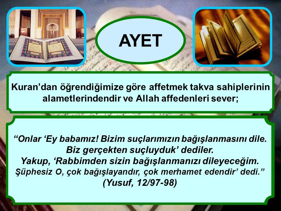"""""""Rabbinizin bağışına ve takva sahipleri için hazırlanmış olduğu, genişliği gökler ve yer kadar olan cennete koşun. O takva sahipleri ki, bollukta da d"""