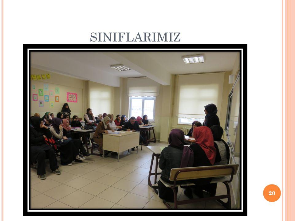 SINIFLARIMIZ 20