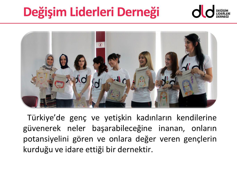 Türkiye'de genç ve yetişkin kadınların kendilerine güvenerek neler başarabileceğine inanan, onların potansiyelini gören ve onlara değer veren gençleri