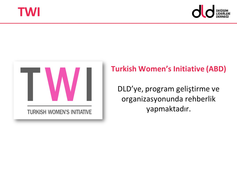 Turkish Women's Initiative (ABD) DLD'ye, program geliştirme ve organizasyonunda rehberlik yapmaktadır. TWI