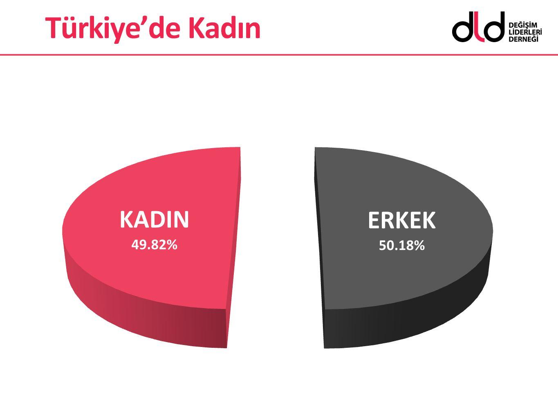 Türkiye'de Kadın İstihdamı İstihdam oranı %45,9 Erkekler %65,2 Kadınlar %27,1 Türkiye'de Kadın