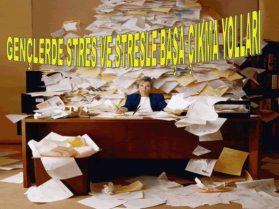 STRES NEDİR.Stres, vücudun çeşitli içsel ve dışsal uyaranlara verdiği otomatik tepkidir.
