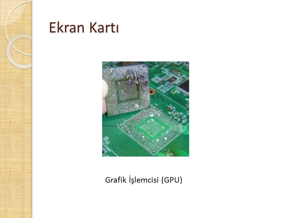 Ekran Kartı Grafik İşlemcisi (GPU)