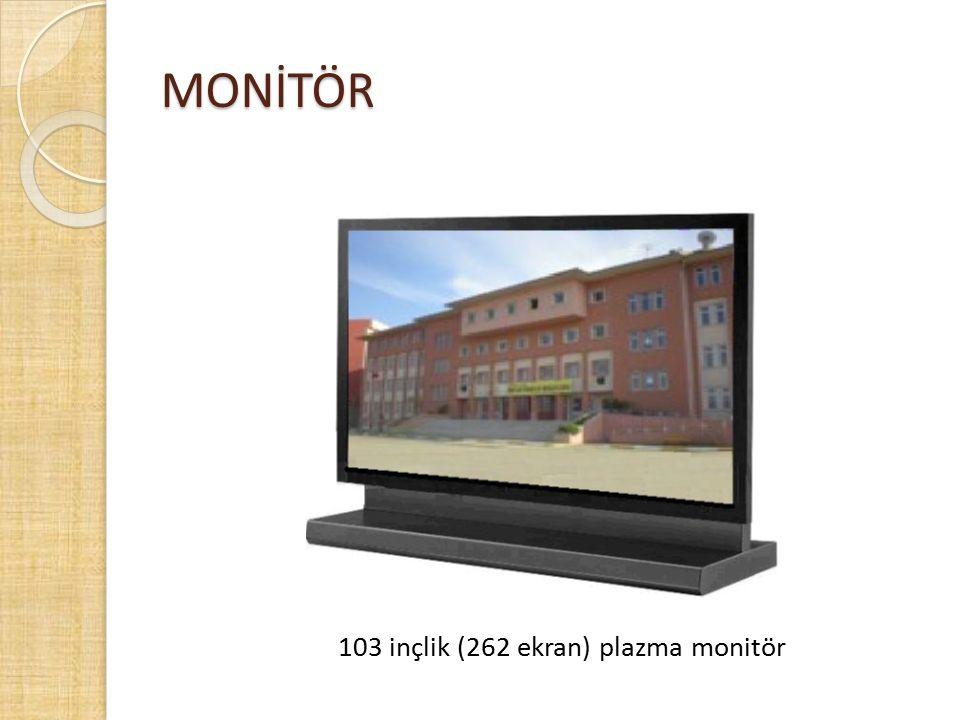 MONİTÖR 103 inçlik (262 ekran) plazma monitör